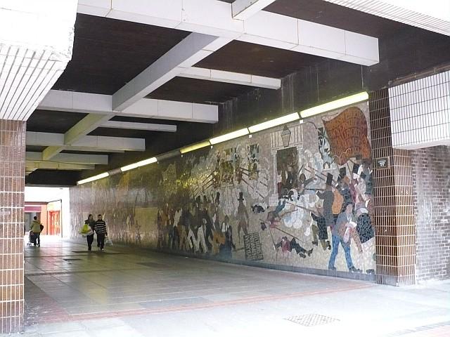 Chartist mural john frost square robin drayton cc by sa for Chartist mural newport