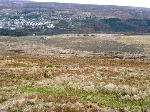 View from Mynydd Varteg Fawr