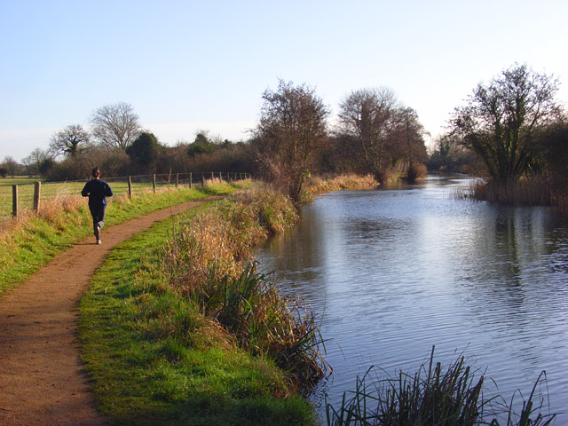 The River Kennet, Burghfield