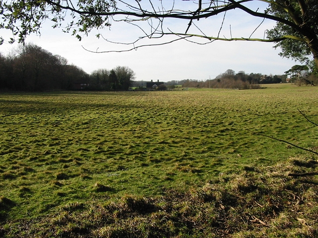 View across the fields towards Betteshanger