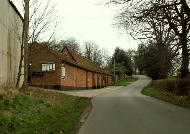 A view of Great Ropers Lane near Great Warley