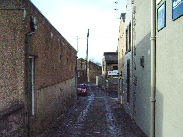 A back street in Clitheroe
