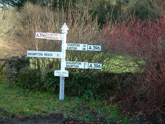 Stags Head Cross Signpost