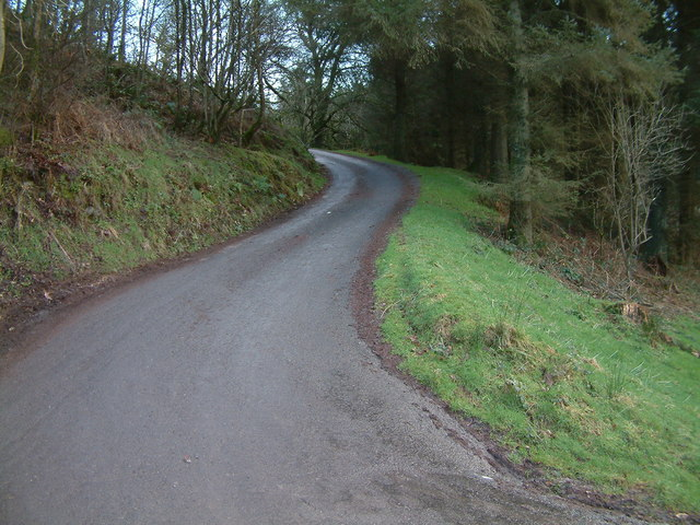 Private Road leading to Hollam Farm