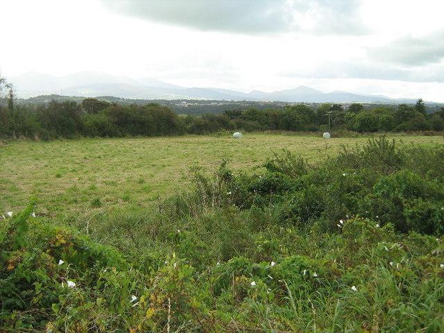 Farmland at Llandegfan