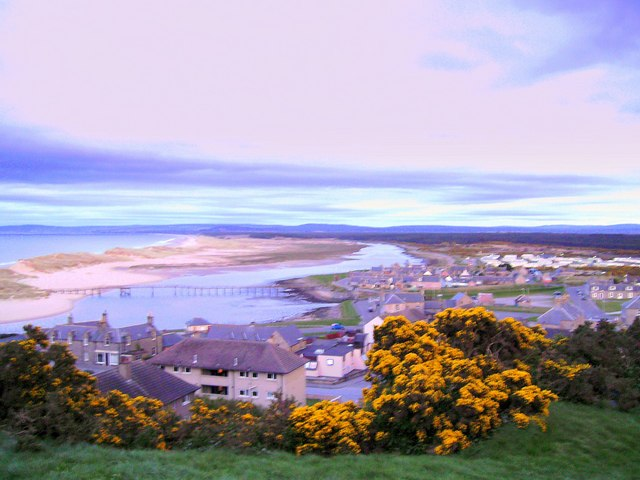Lossiemouth in Spring