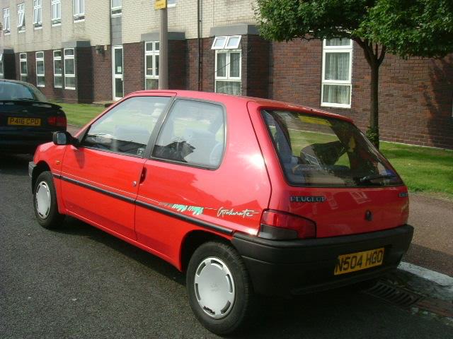 Eastbourne - parked car