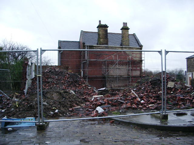 Demolished building on Cleaver, Burnley