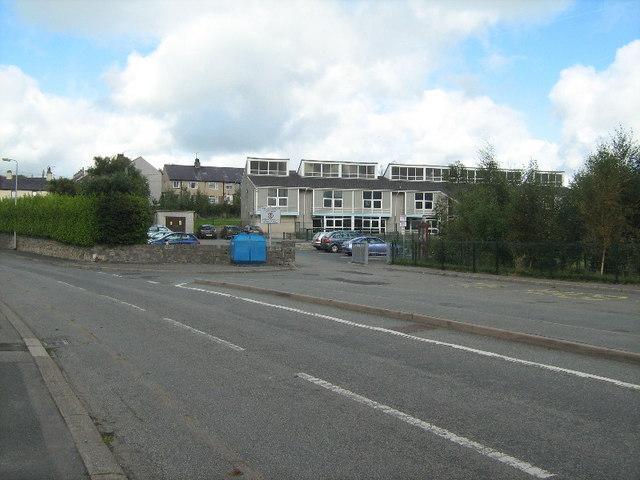 School entrance, Llandegfan