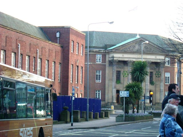 Old Magistrates courts, Derby