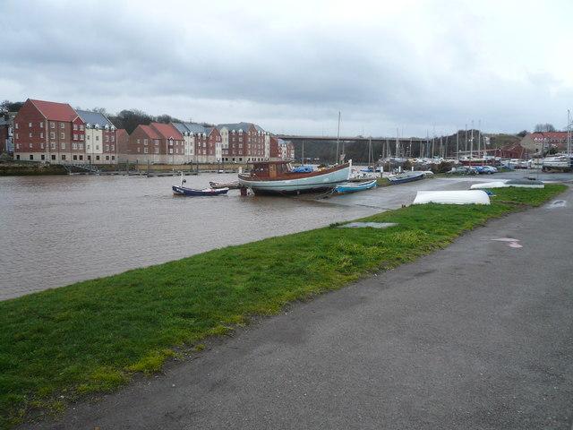 Whitby - Marina View towards New Bridge