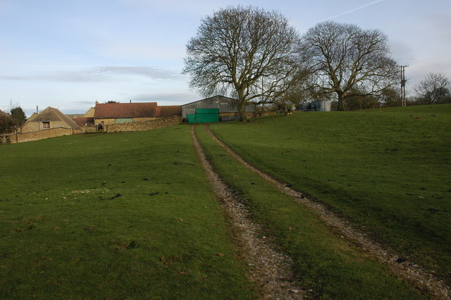 Farm buildings in Hidcote Boyce