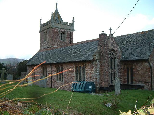 St. Petrock's church, Timberscombe