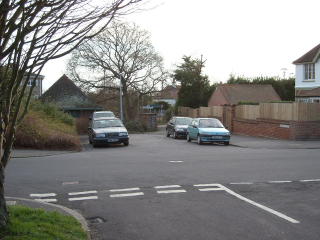 Northern approach to Collington Station, Bexhill-on-Sea
