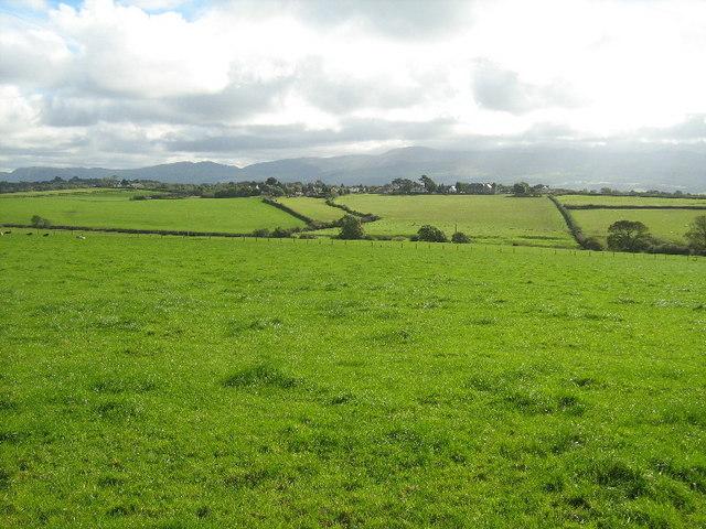 Farmland near Plas Llandegfan