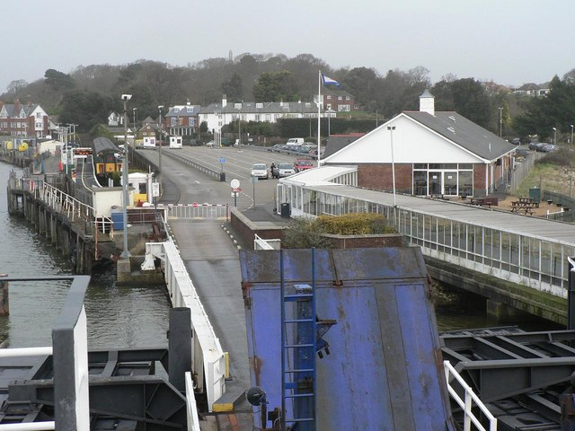 Lymington: ready to depart