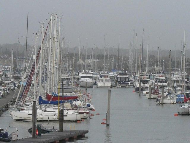 Lymington: lachts of yachts!