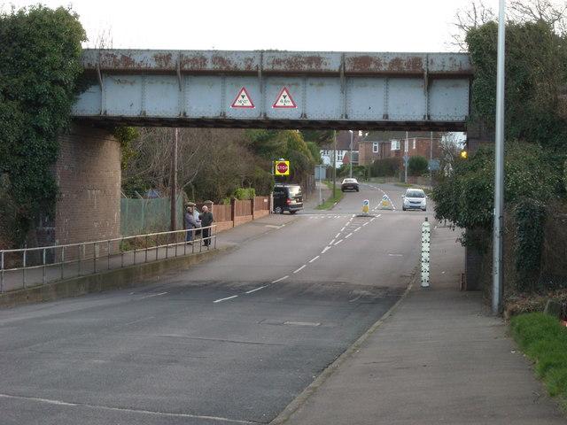 Railway Bridge, Westcourt Drive, Bexhill-on-Sea