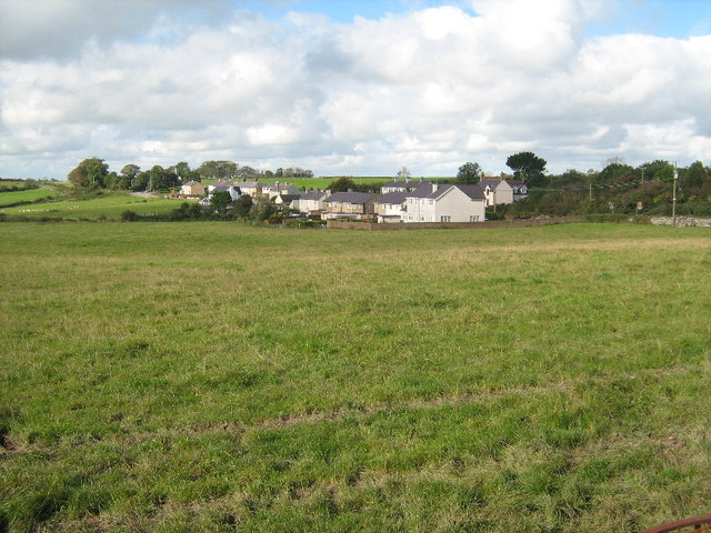 Houses at Llansadwrn