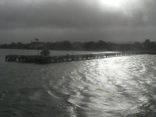Yarmouth: pier silhouette