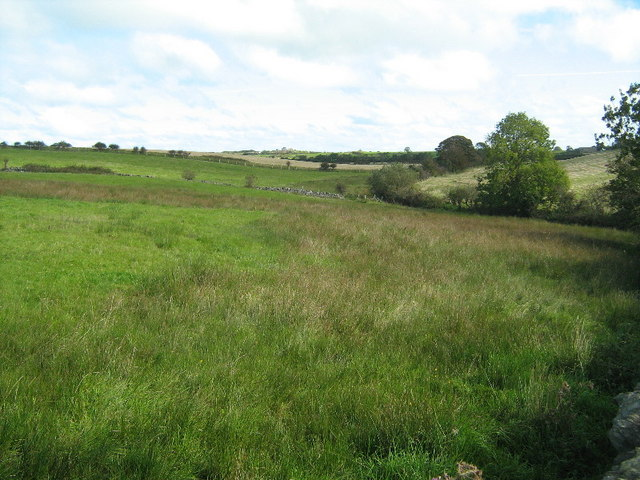 Farmland at Llansadwrn
