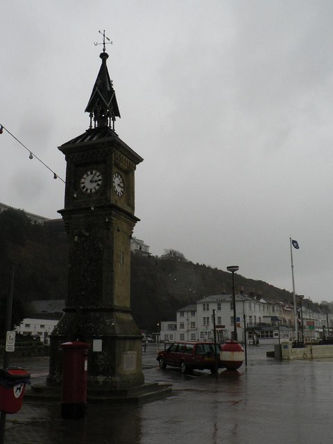 Shanklin: clock tower