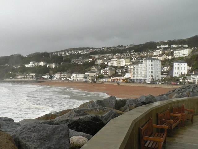 Ventnor: the beach from the southeast