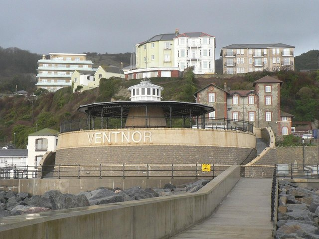 Ventnor: the bandstand