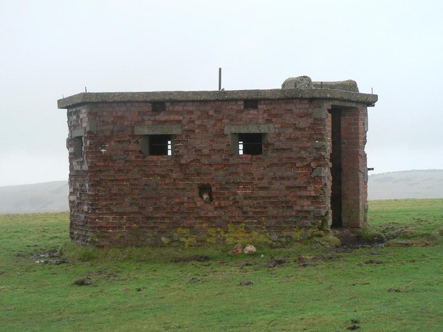 St. Boniface Down: military remnants