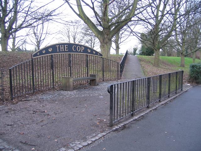 Entrance to The Cop park