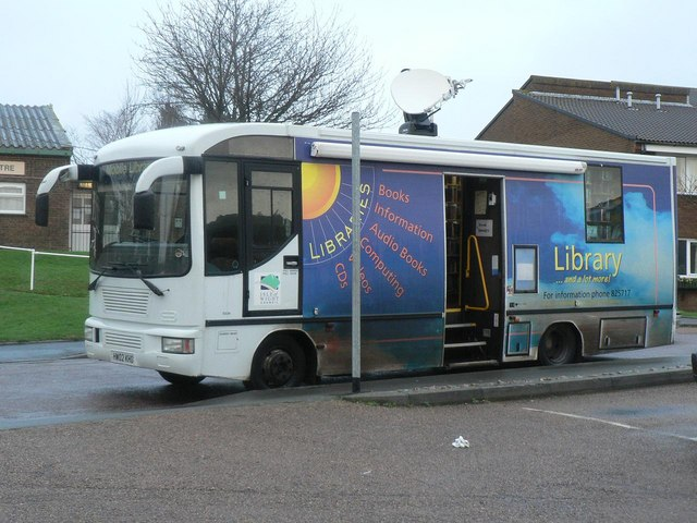 Wroxall: mobile library