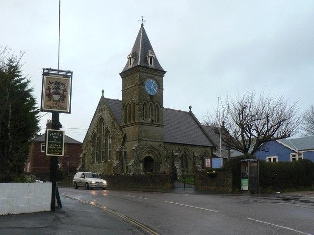 Wroxall: parish church of St. John the Evangelist