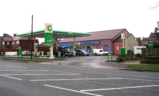 BP Filling Station - Horbury Road, Lupset