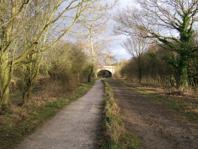 The Wirral Way, near Willaston