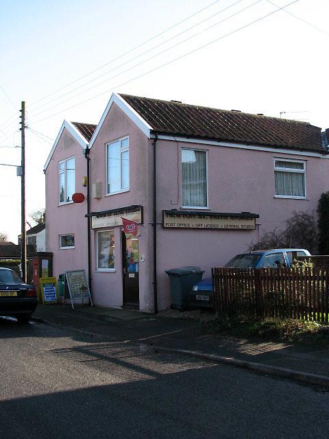 Post Office and shop in Newton St Faith