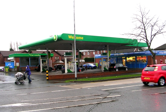 BP Filling Station - Horbury Road