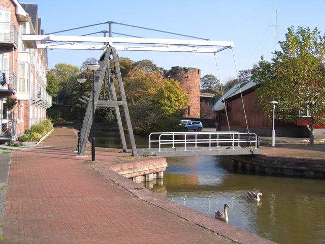 Lift Bridge and the Water Tower