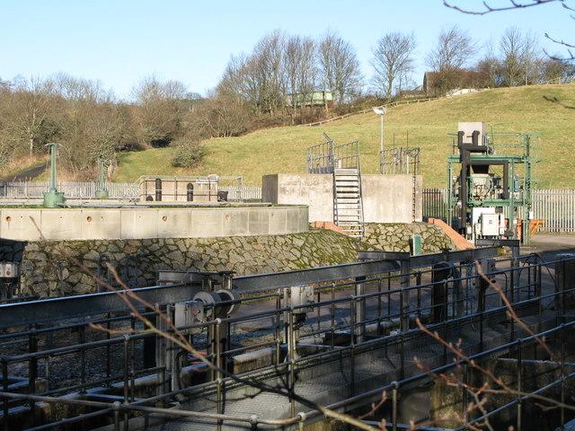 Catton sewage works