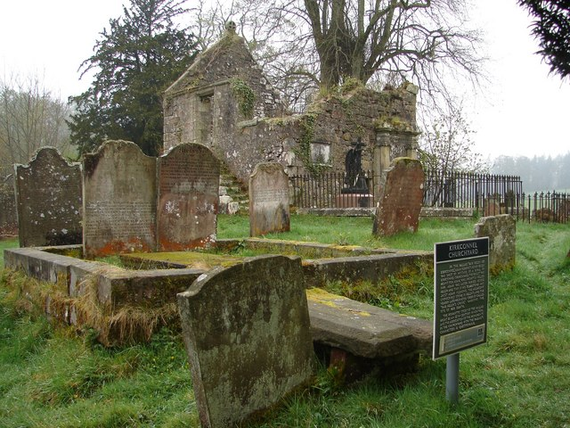 Kirkconnel Church & Cemetery, Springkell