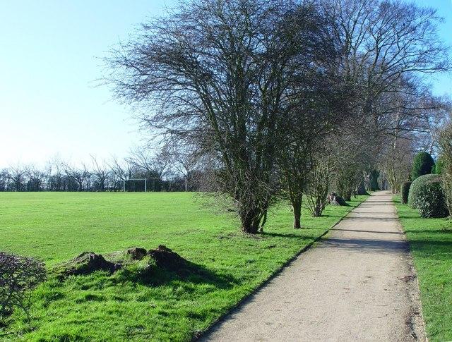 Beverley 20 footpath, Walkington
