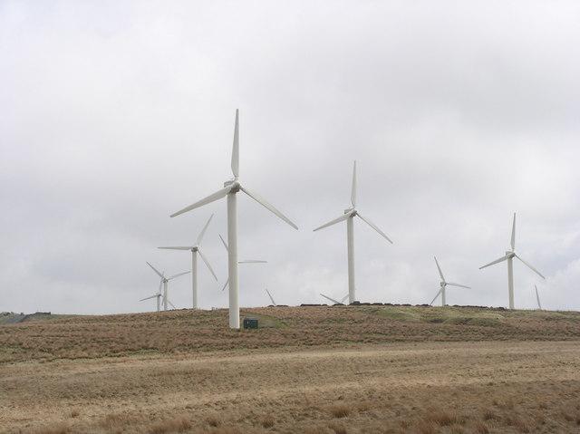 Coal Clough Wind Farm