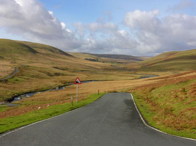 Upper course of the Afon Elan