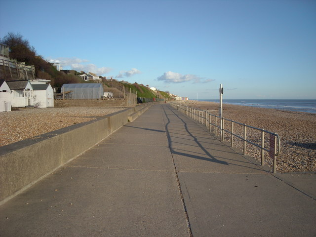 'Not the Proper Promenade east', Bexhill-on-Sea
