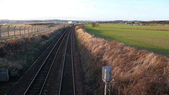Edinburgh - North Train line