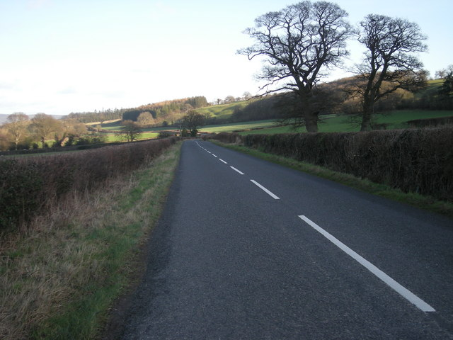 B4385 at Lower Broughton