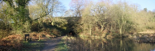 Eastern Entrance to Gregory Tunnel, Cromford Canal.
