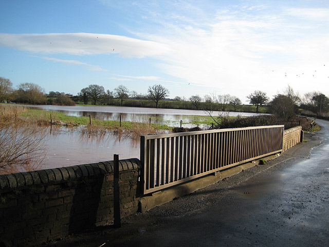 River Leadon floodplain