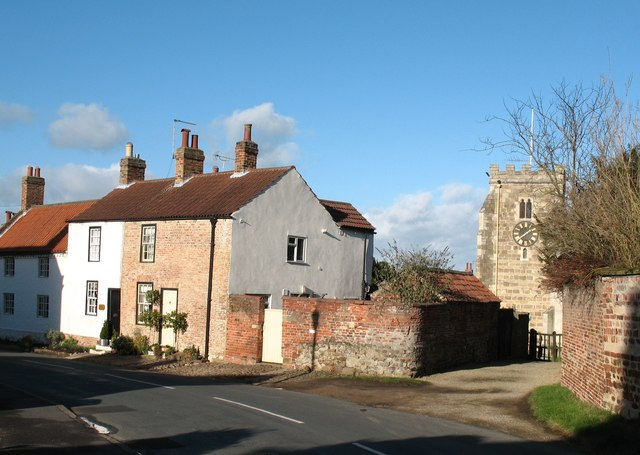 Church and cottages