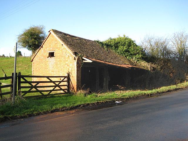 Tumbledown barn