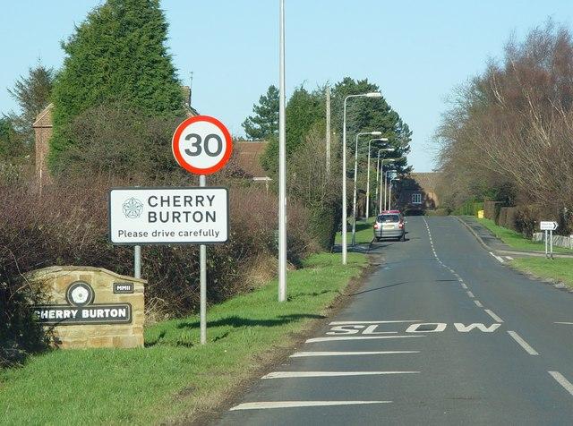 Bishop Burton Road, Cherry Burton